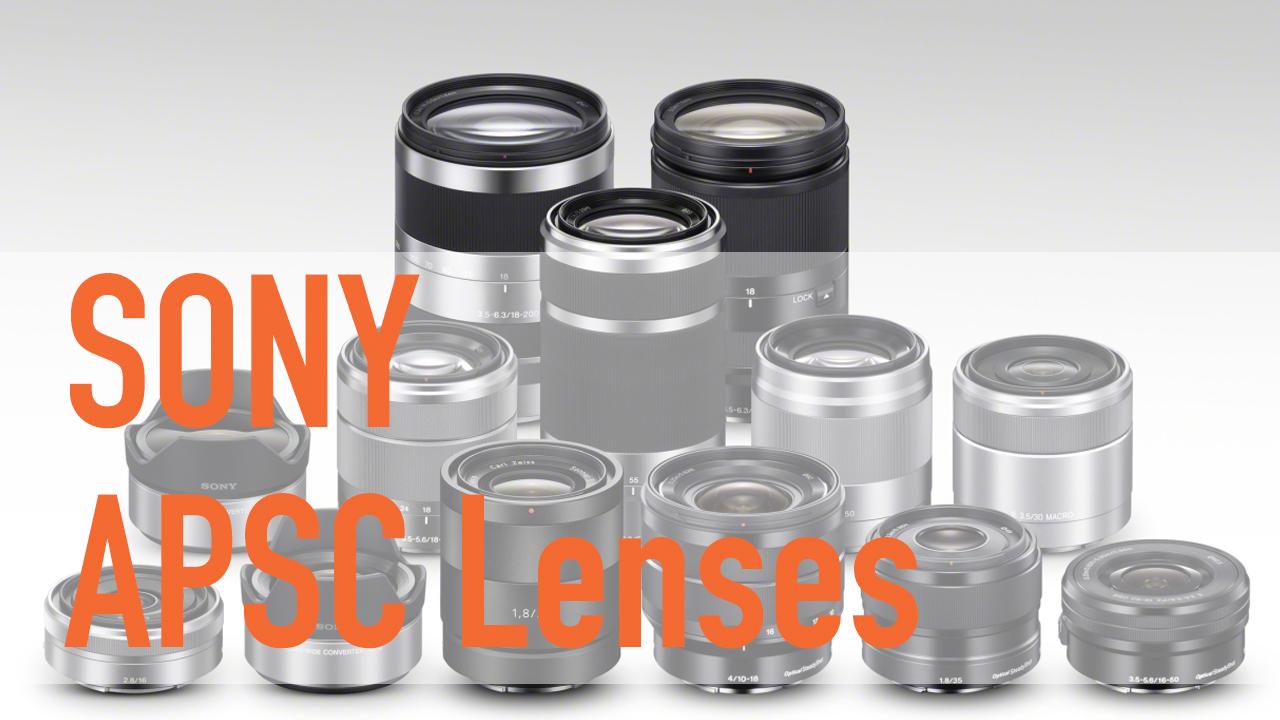Choosing your next Sony Alpha APS-C E-Mount Lens - Mark Galer