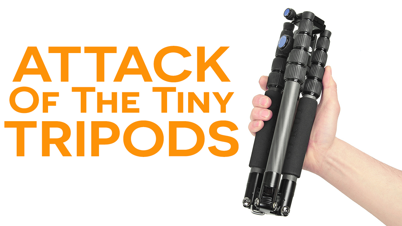 Attack of the Tiny Tripods