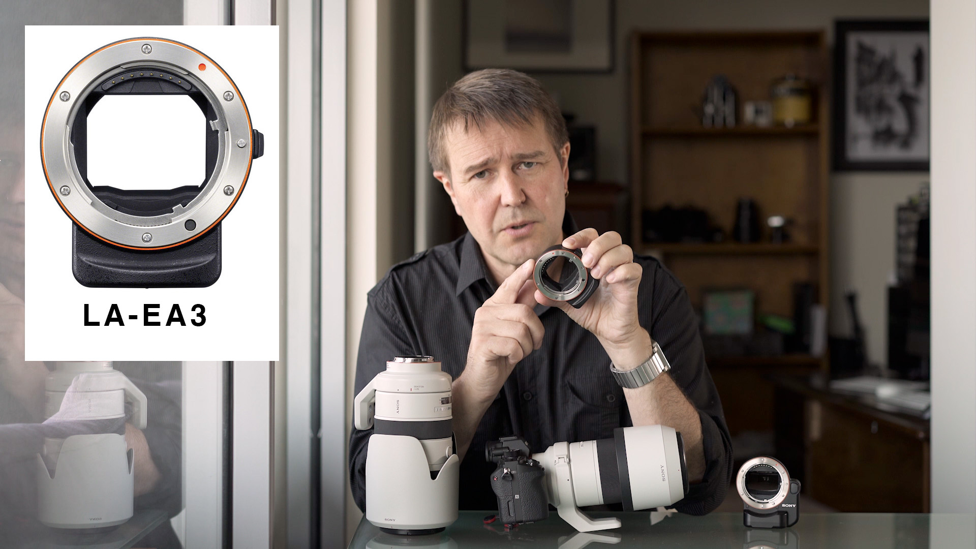 A9 - Firmware Updates for the LA-EA3 adapter and FE Lenses - Mark Galer