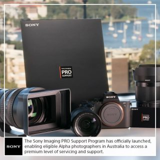 Sony Alpha Pro Support