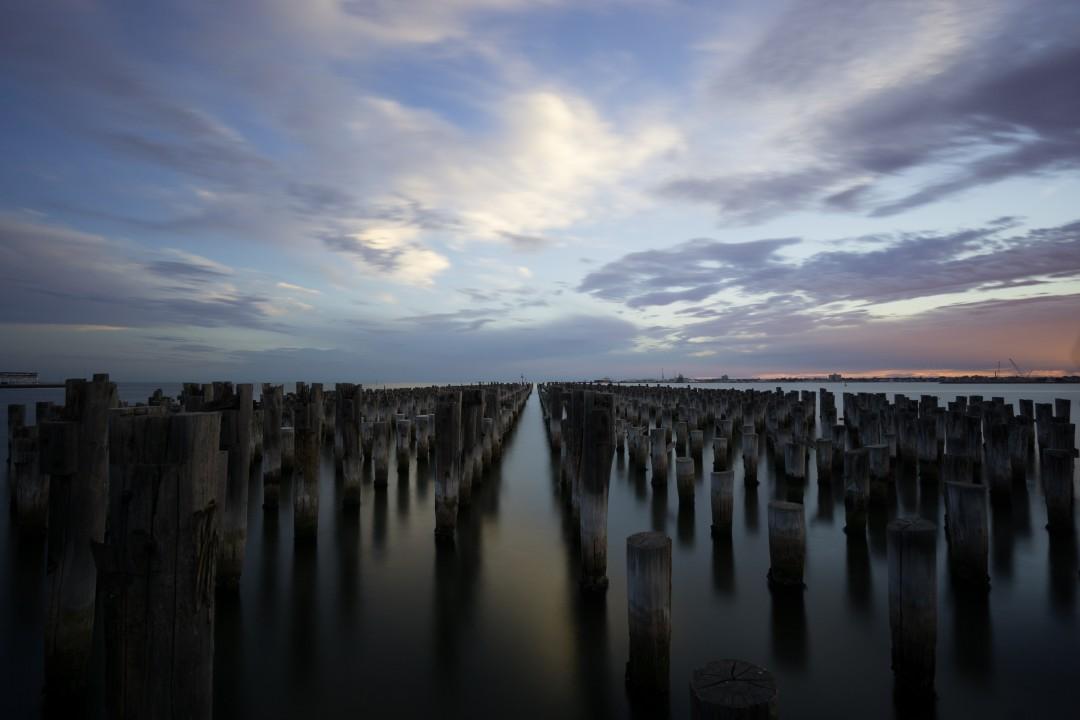 Princes Pier-Before