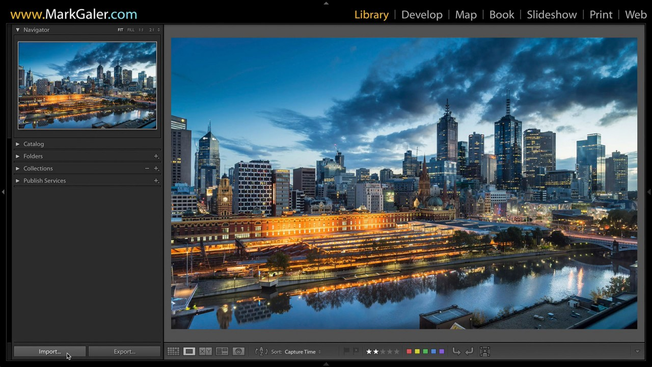 Lightroom Import Preset