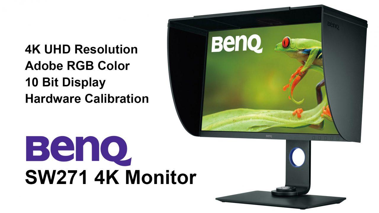 BenQ SW271 4K Monitor