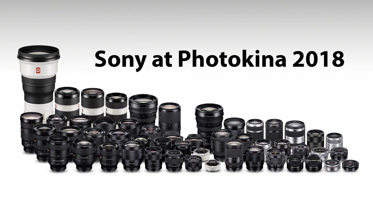 Photokina - Sony Press Conference