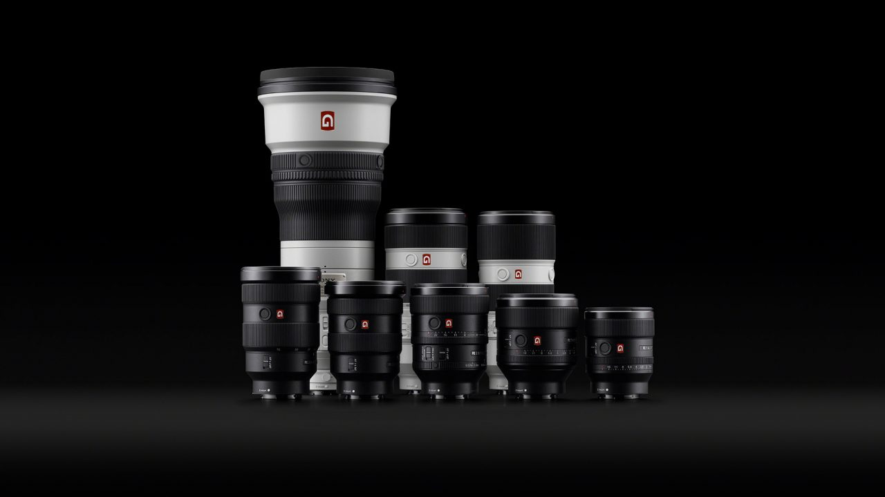Sony's lineup of future-proof ultra high-quality GM lenses