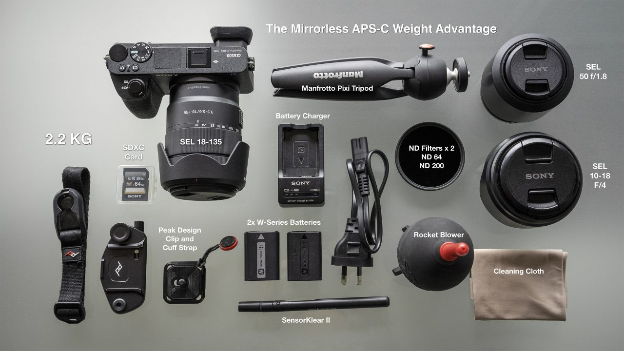 Sony Alpha APS-C Camera Kit