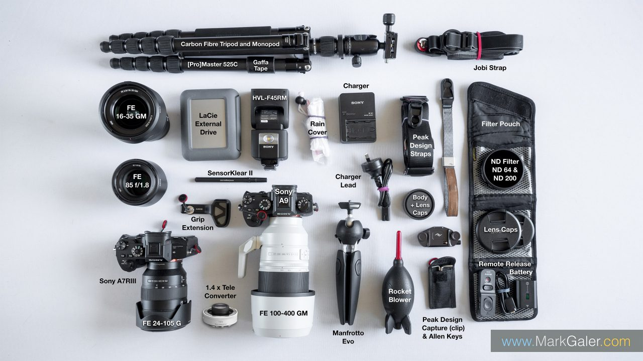 Sony Alpha Full-Frame Camera Kit