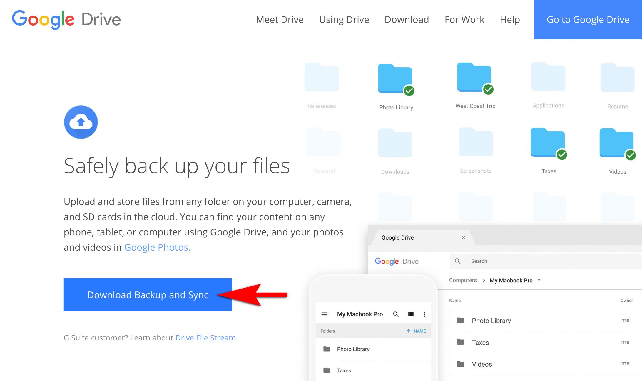 Google's Backup and Sync - Mark Galer