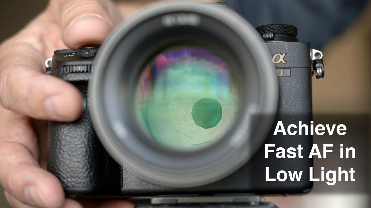 Fast AF in Low Light