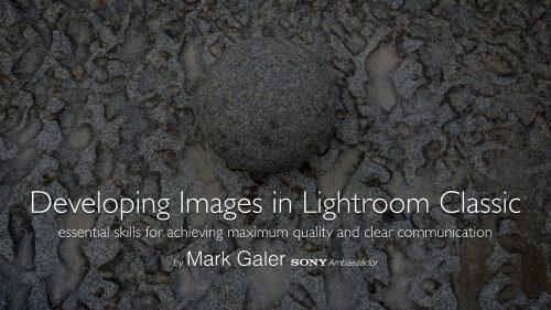 Lightroom CC Classic Post Production Workflow