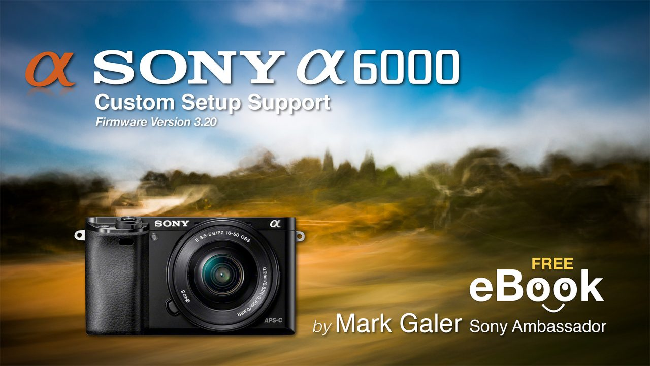 Free Sony A6000 Custom Settings eBook