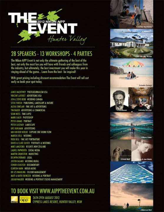 Nikon AIPP The Event