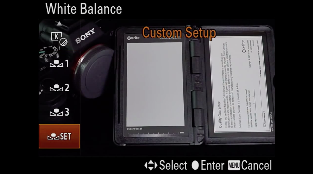 Creating a Custom White Balance - Mark Galer