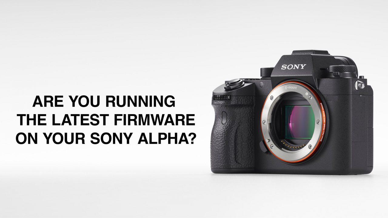Sony Alpha Firmware Update