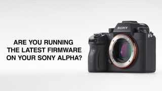 Sony Alpha Firmware Update
