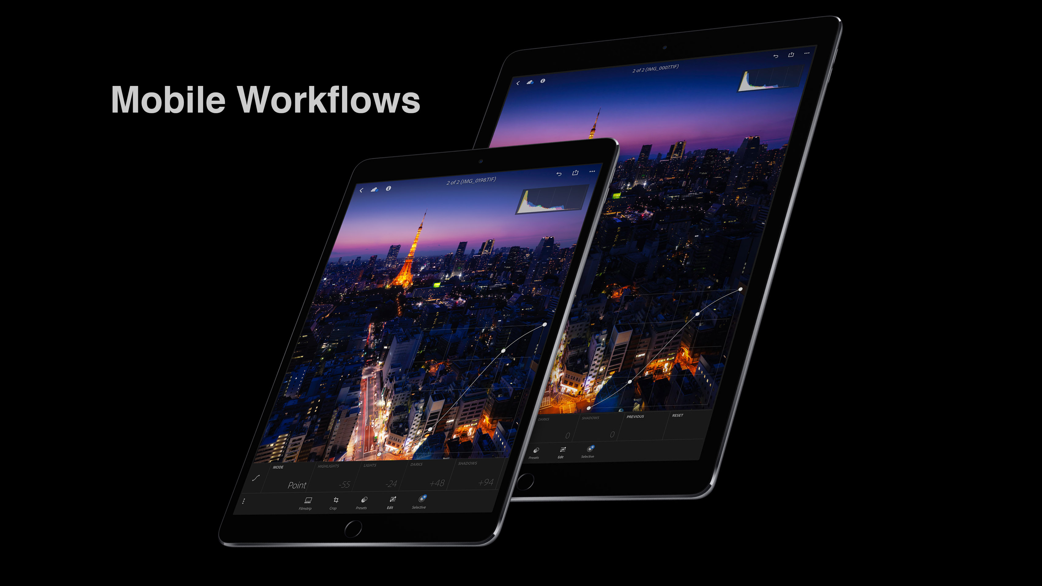 iPad Pro - A Mobile Photographic Workflow - Mark Galer