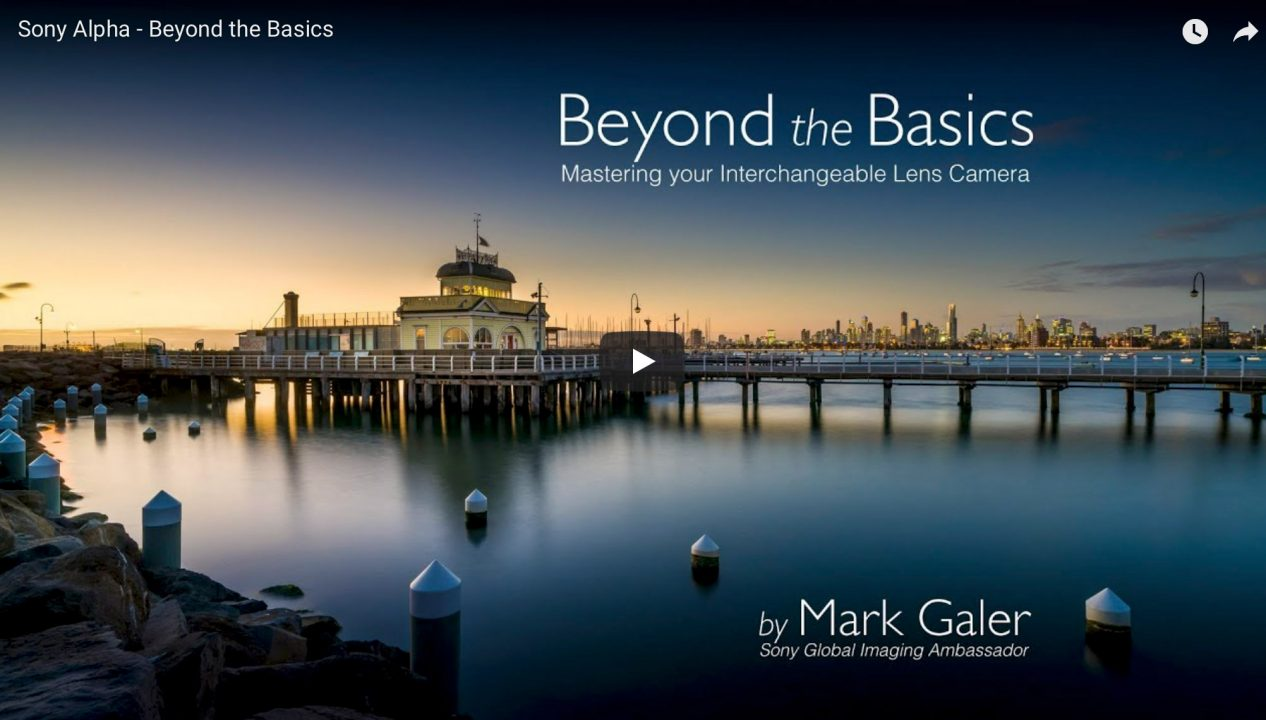 Beyond the Basics - Moving beyond Auto Mode on a Sony Alpha camera