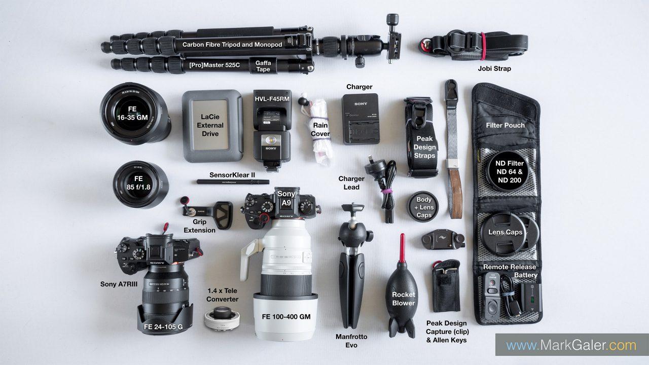 Sony Alpha Full-Frame Camera Kit