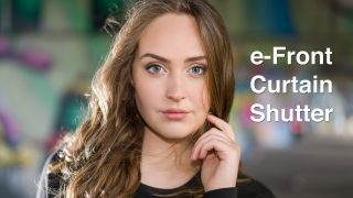 E-Front Curtain Shutter