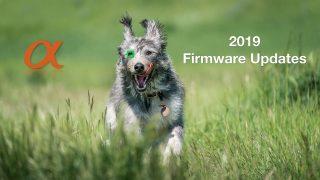 Sony Alpha 2019 Firmware Updates