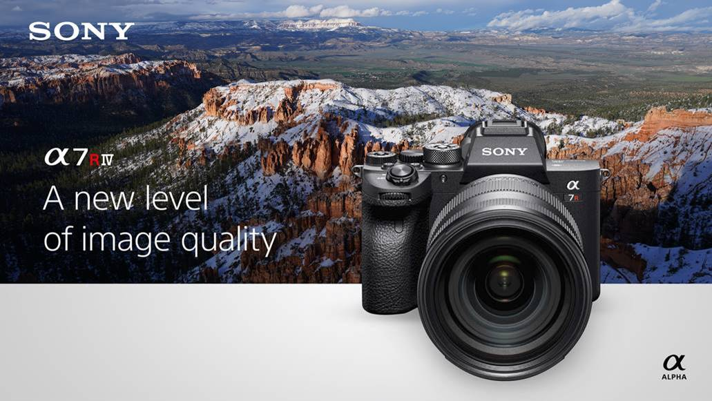 Sony announce the 61 Megapixel A7RIV - Mark Galer
