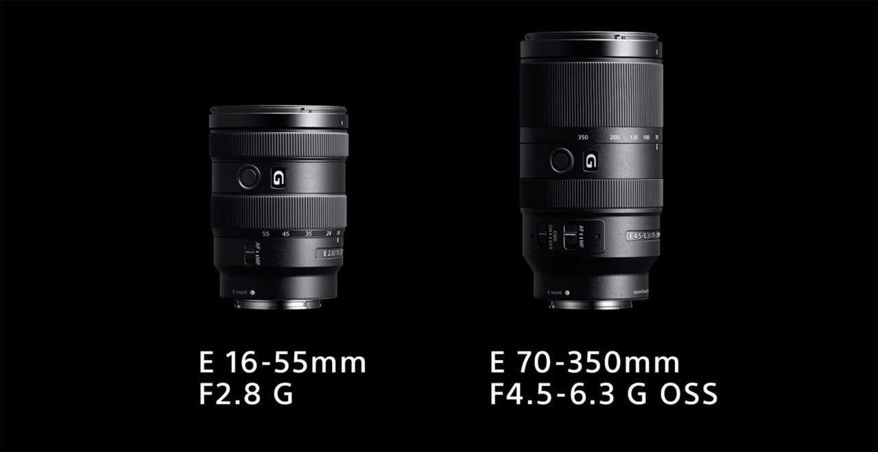 New Sony APS-C lenses