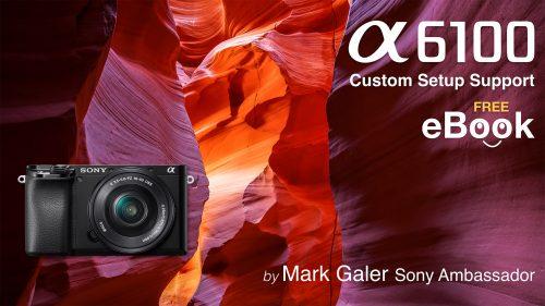 Sony Alpha A6100 Free eBook